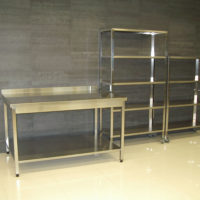 Мебель из нержавеющей стали3