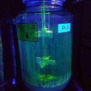 Реактор Р-1 с рибофлавиновым раствором. Валидация мойки-очистки